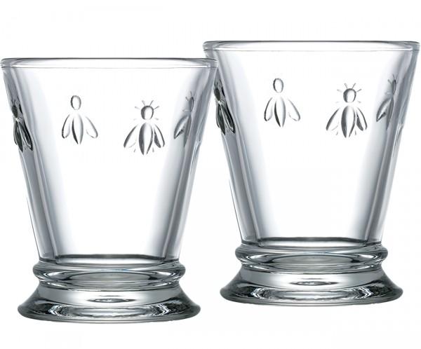 Trinkglas ABEILLE H 10,5 cm 2er Set