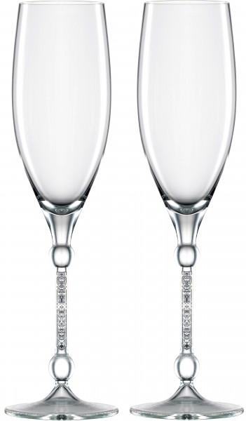 Champagnergläser 10 Carat - 2 Stück im Geschenkkarton