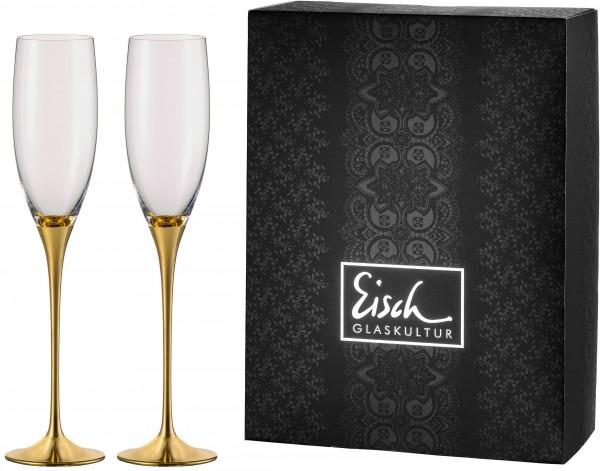 Champagner Exklusiv gold - 2 Stück in einem Geschenkkarton