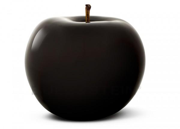 Apfel BLACK- für den Innenbereich