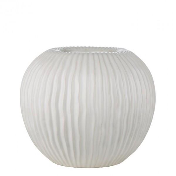 Vase STRILIA weiss